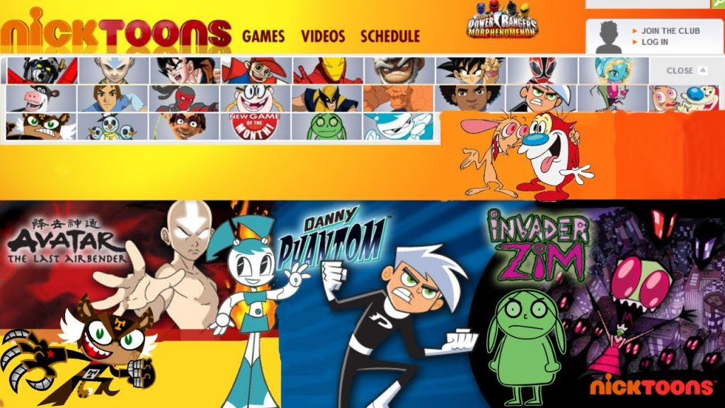 Nick Toons Best Cartoons Streaming Websites