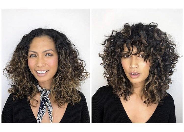 4. Curly Shag: