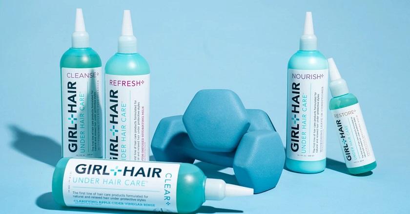 Girl + Hair Under Hair Care