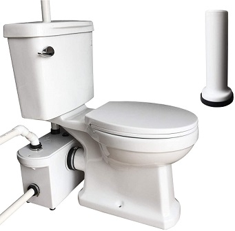 basement toilets that flush up