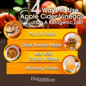 apple cider vinager for keto