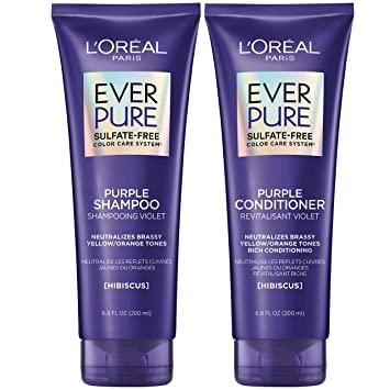 L'Oréal Brass Toning Purple Shampoo by EverPure