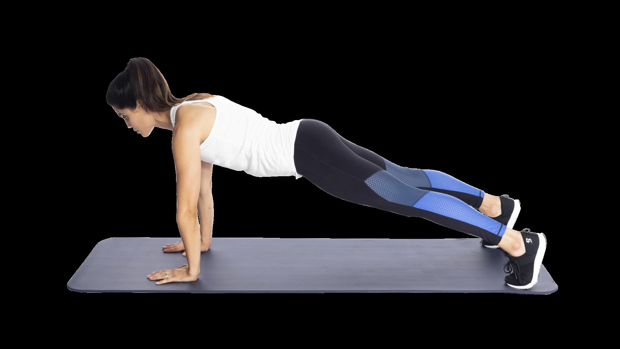 Ordinary forearm plank