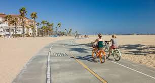 Bike down the Strand