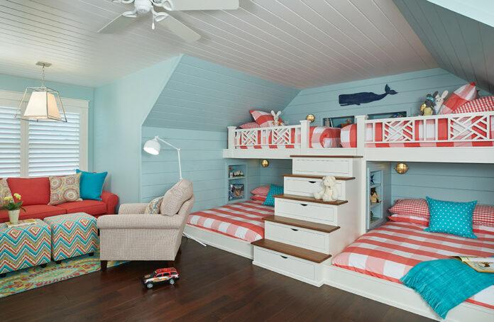 Beach House Bunk Rooms
